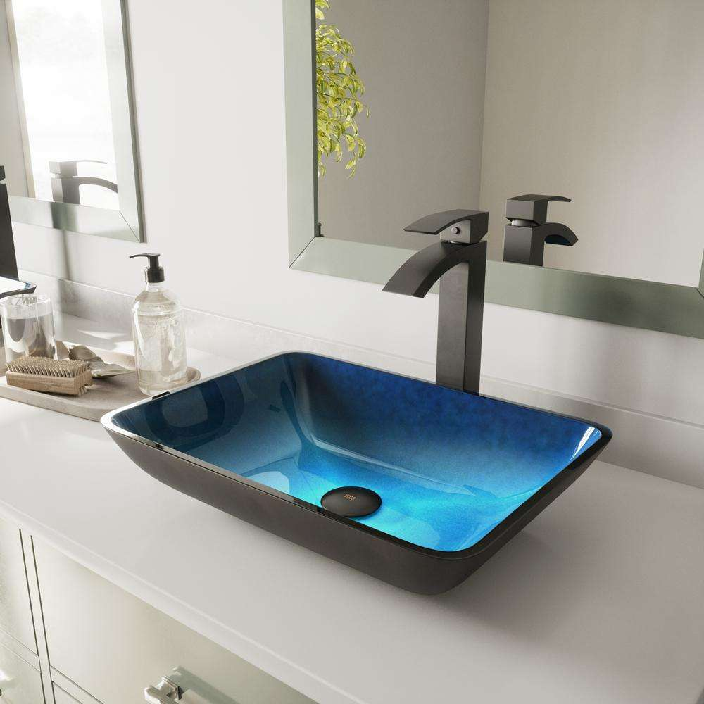 Hot Sale High Durability Commercial Counter Top Glass Hand Wash Basin In Dubai