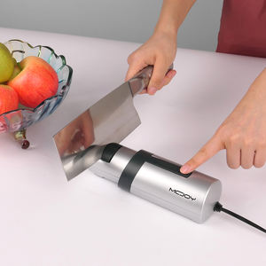 Home kitchen tools knives sharpener machine chef choice mini ceramic stainless steel diamond professional electric knife sharper