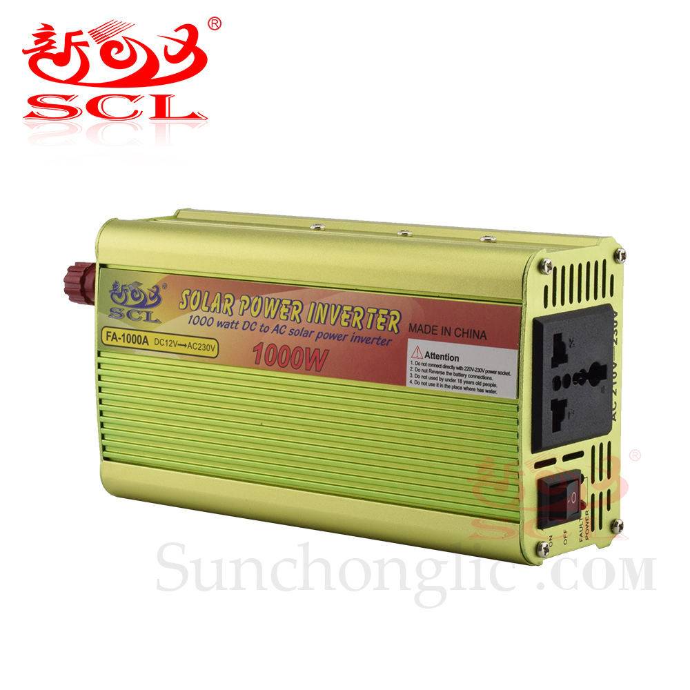 Sunruang Kontrol <span class=keywords><strong>Inverter</strong></span> 1KW 12V 220V 1000 Watt, <span class=keywords><strong>Inverter</strong></span> Daya 1000 W Sinus Modifikasi