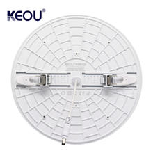 Smart Round dimmable frameless 36w led panel light embedded surface ceiling led light