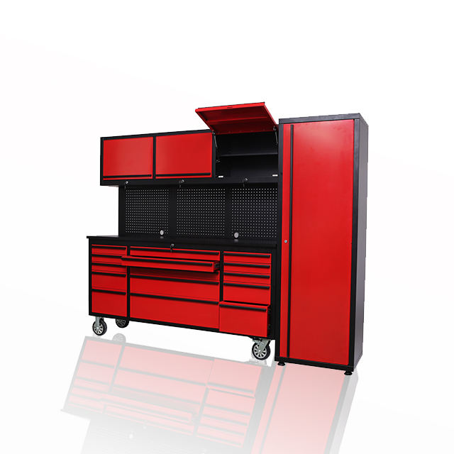 Modular DIY garage durable tool storage cabinets trolley with drawers system for factory