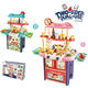 Pretend Music Sound Kitchen Toys Play Set Light Sound And Spray Function