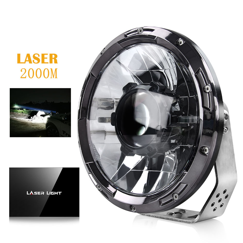 2020 Exclusive New Design LED Driving Light laser Light Led Round 7inch Laser Led Work Light