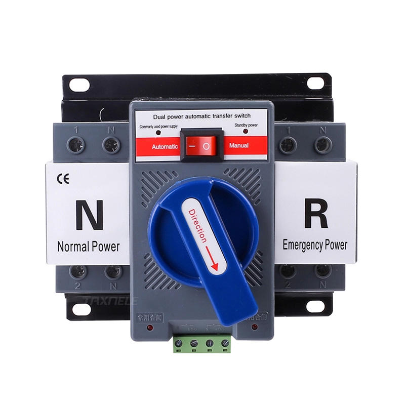 ATS 2P 63A 230V Micro Circuit Breaker Dual Power Automatic transfer switch/Auto transfer switch