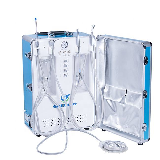 Portable Unit Dental with Cavitron for Teeth Cleaning Use