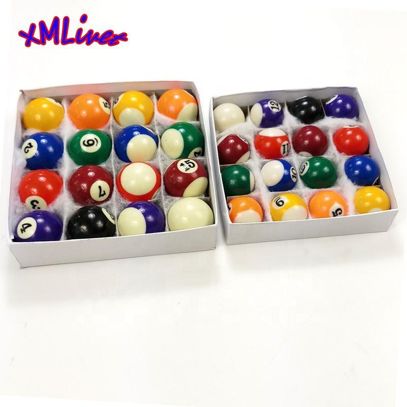 Prévu cool ensemble complet 16 miniature Mini Pool boules de billard diamètreIHS