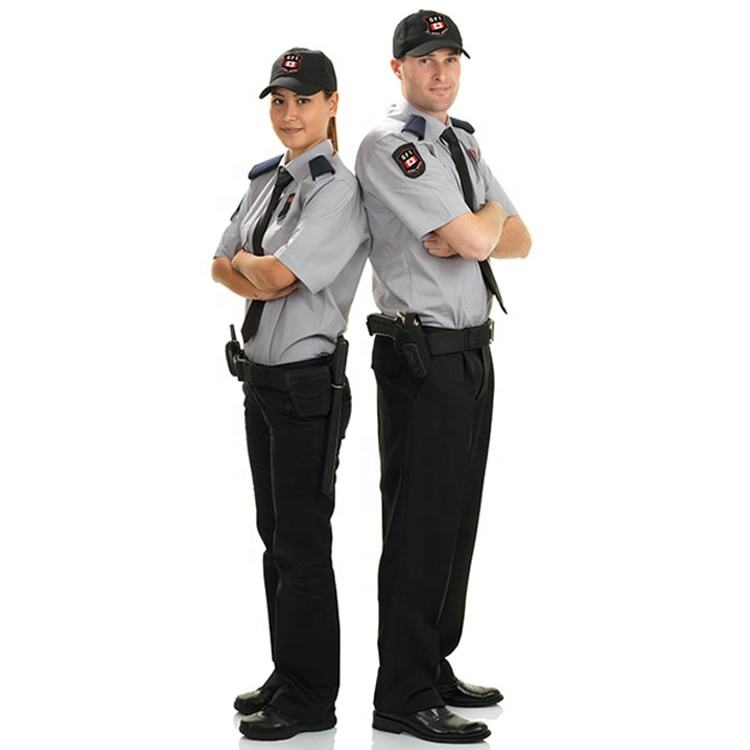 Factory Supply OEM Custom Unisex Tactical Security Guard Officer Uniforms