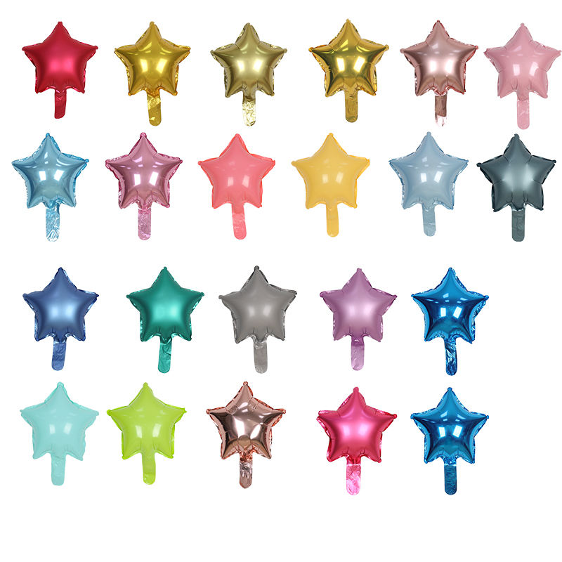 Foilgram Balloons Metallic Star Balloons in party supplies corporate set up