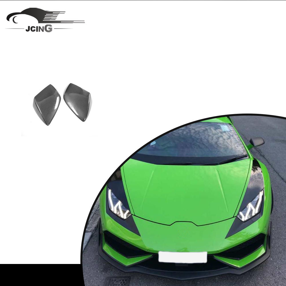 Auto In Fibra di carbonio Side Mirror Covers per <span class=keywords><strong>Lamborghini</strong></span> Gallardo LP550 LP560 LP570 Coupe 2-Door 2009-2013 del corpo kit