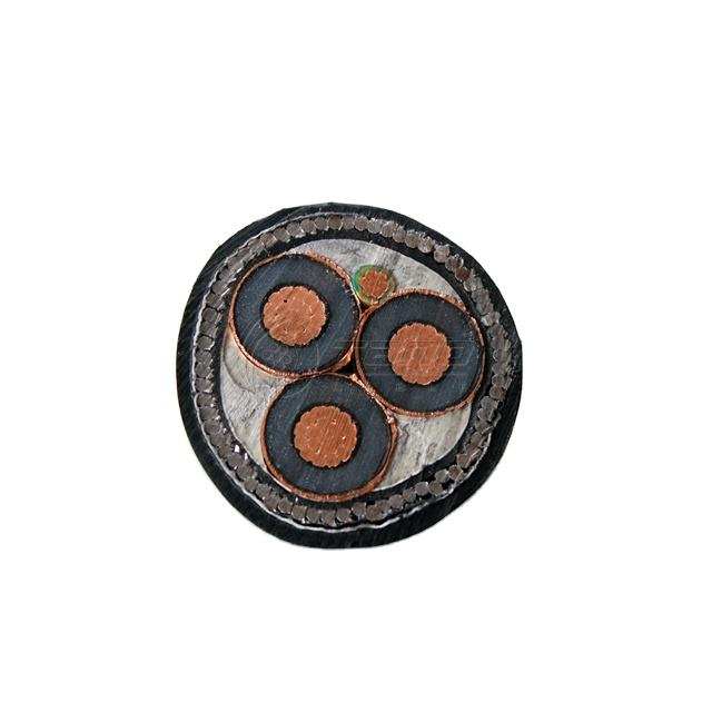 15KV 70mm 95mm Copper Cable MV Power Cable