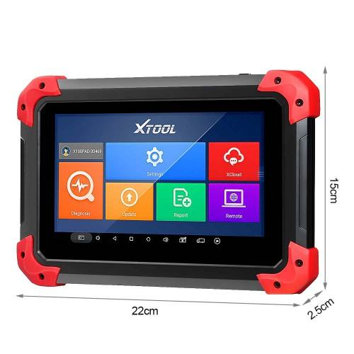 100% Original XTOOL X100 PAD X-100 Auto Key Programmer With Oil Rest Tool And Odometer Adjustment X 100 PAD