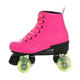 2020 new products cheap roller skates double row roller skates 4 wheel skates for sale