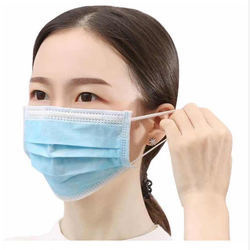 Hot sell disposable Non-woven 3-ply Face Mask 3 Ply Face mas