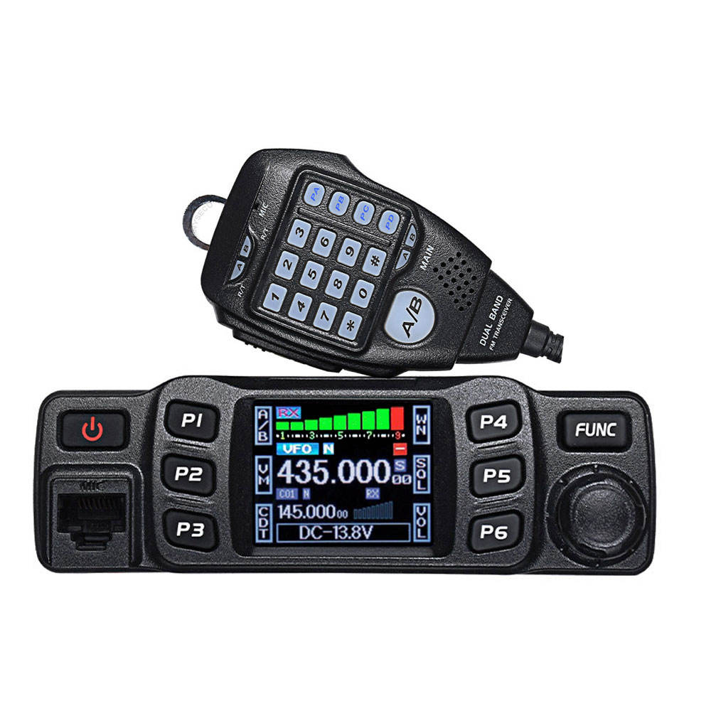 Walkie Talkie 25W UHF VHF Mobile Radio ANYTONE AT-778UV Veicolo Mouted Auto Radio