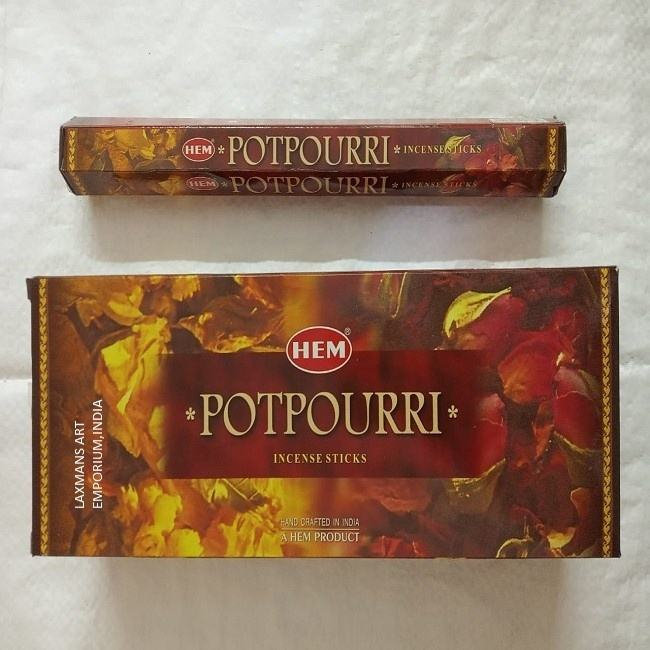 hem incense sticks potpourri