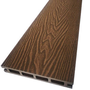 New Popular Composite Flooring 3D WPC Decking Exterior Wood Grain WPC Board