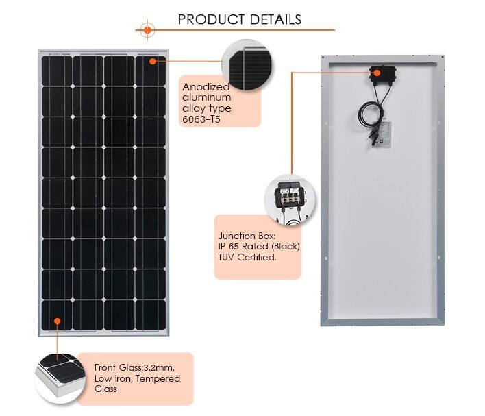 Cheap 200W Solar Panel Price 12v 200W Solar Panel For Home