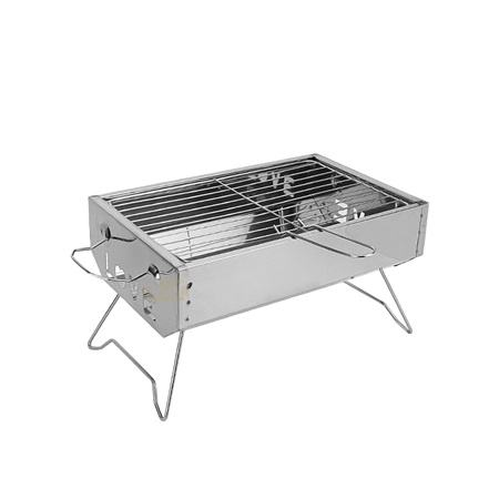 Best selling folding stainless steel barbacoa inox sur mesure outdoor camping bbq grill