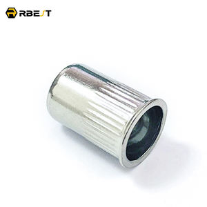 Cheap price M4-M10 reduce head small knurled body stripe pressure stainless steel rivet nut