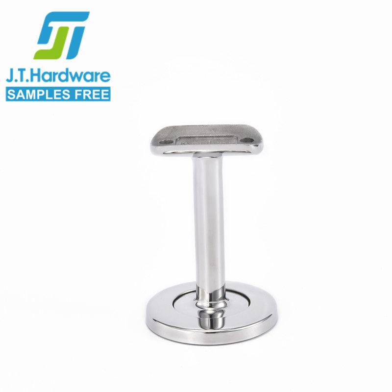 Factory direct sale stainless steel 304 316 one part wall mounted handrail bracket for tubing