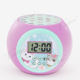 Kids Alarm Clock Multifunction LED Star Sky Projector Lamp Baby Nursery Light with Time Calendar Thermometer for Bedroom Decor