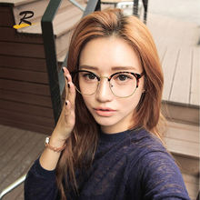 2020 designer stock metal glass frame cat eye optical glasses modern eyewear frames women