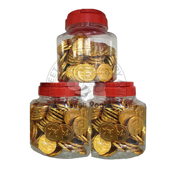 Good Taste Sweet Old Gold Coin Chocolate Candy