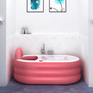 Household Thickened PVC Inflatable Adult Spa Bathtub Plastic Folding Portable Indoor Bath Tub Pool For Children And Adult