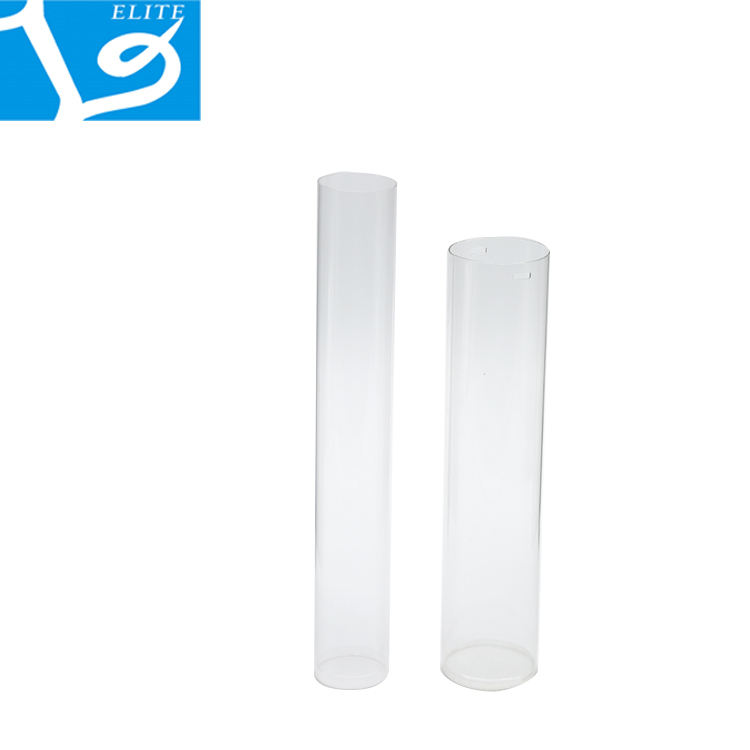 ELITE PC Transparent Plastic Cheap Clear Cylinder Circular Tube Pipe