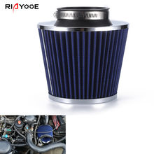 Air Filter 3inch 76mm Universal Fits for Cold Air Intake High Flow Air Filters
