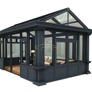 Sunroom House Prefab Sun Room Prefabricated Aluminum Garden Glass House
