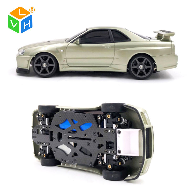 MINI-Q7 Electrics Power High Speed Metal Chassis kyosho mini z rc car Brushless Race Drifting Radio Control Toys