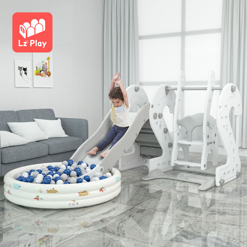 High quality new wholesale toddler indoor baby plastic sliding toys kids slides for children playground and swing play set