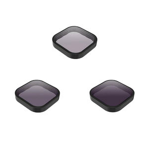 ND 8/16/32 Filter Camera Lens Cap Neutral Density and Polarizing Filter Set for Go Pro 9 Hero Black