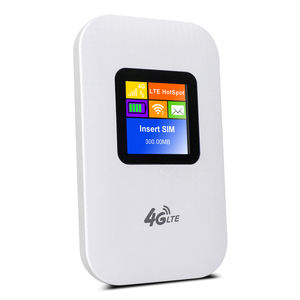 EDUP new arrival Unlocked Mifis 4G LTE Router 4G Mobile Hotspot with SIM Card Slot