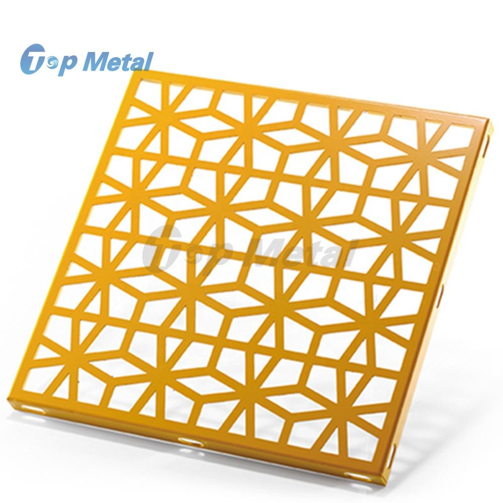 New Style Aluminum Material Wall Cladding Decorative Screen Panels For Curtain Walls