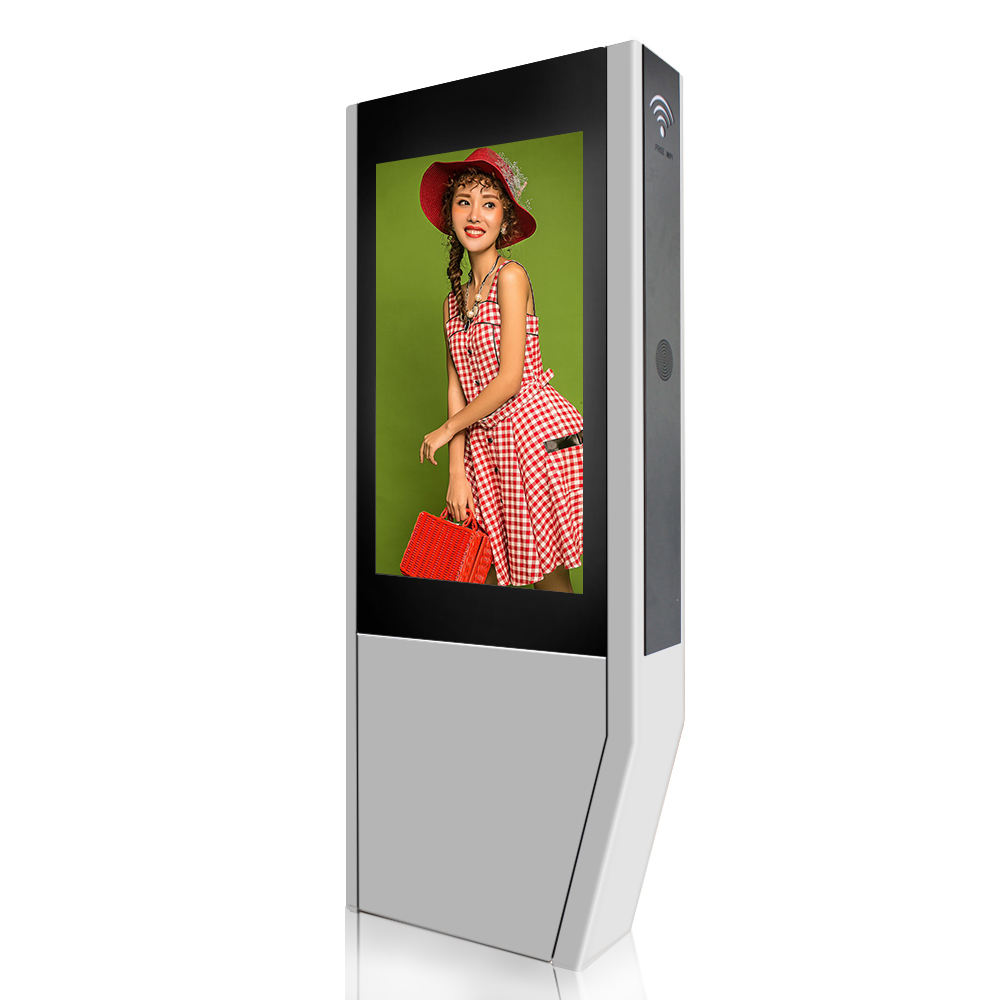 Outdoor Monitor Tahan Air Luar Ruangan Layar LCD Outdoor TV