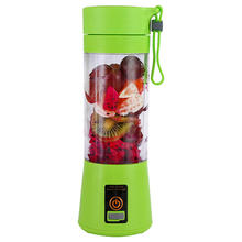 Portable travel juicer blender cup with usb rechargeable battery