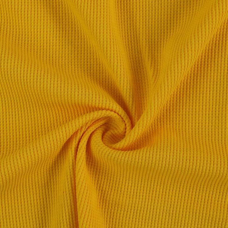 9192# 95 cotton and 5 spandex waffle pigue knit fabric for dress baby clothes