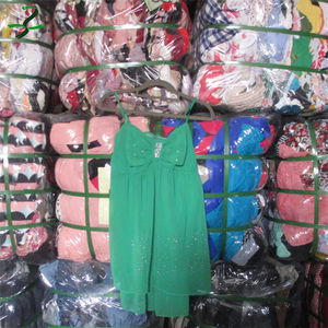 Wholesale bulk hot sale summer containers used clothes south korea second hand fashion mixed children clothes bales