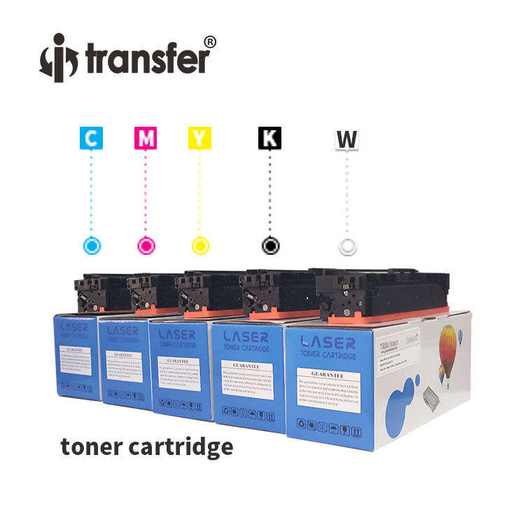 Compatible Laser White Toner Cartridge For Normal Color Laser Printer