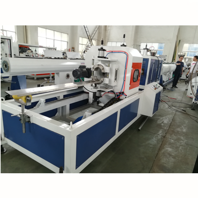 3 layer PVC foam pipe production line plastic extruder