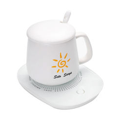 Hot selling product safe and environmentally friendly thermostatic coaster high-end cup heater smooth and no burr