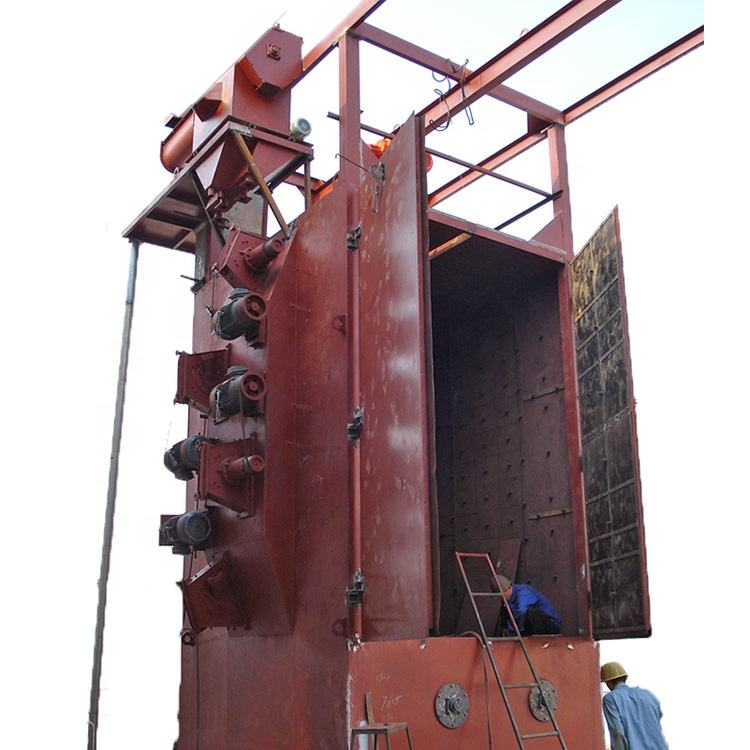 CE Approved Hook type Shot Blasting Machinery