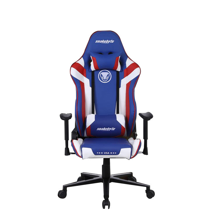 Office Chairs Gaming Swivel Computer Soho Pu Leather Soft Black White Racing Style Packing game chair
