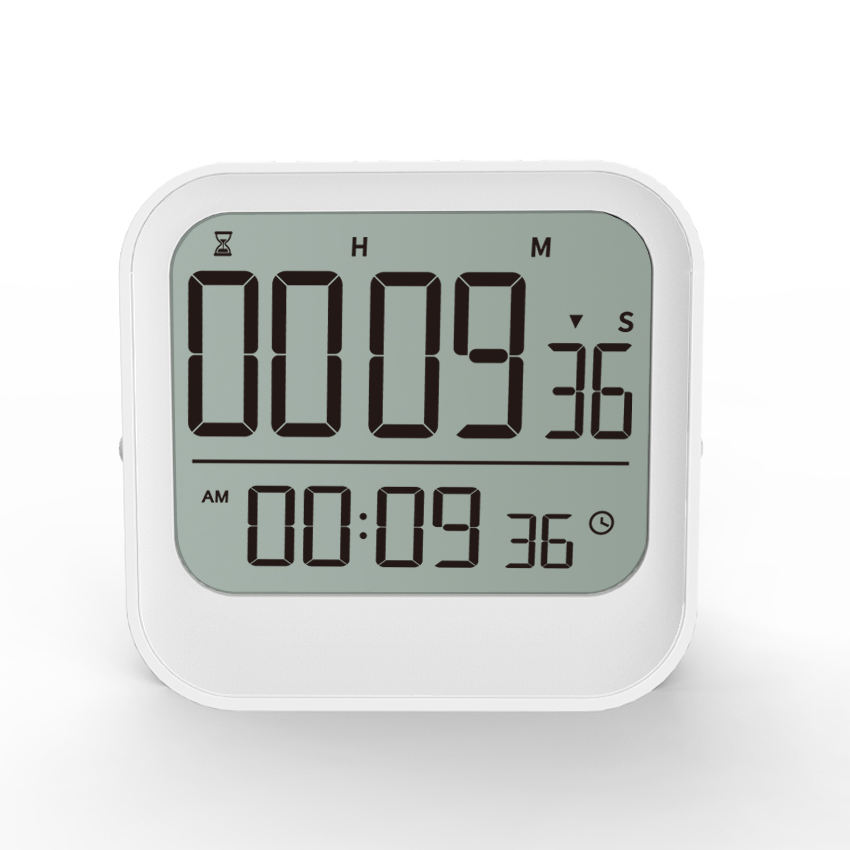 Digital Count Down Kitchen Timer With Alarm Large Screen Fast Setting