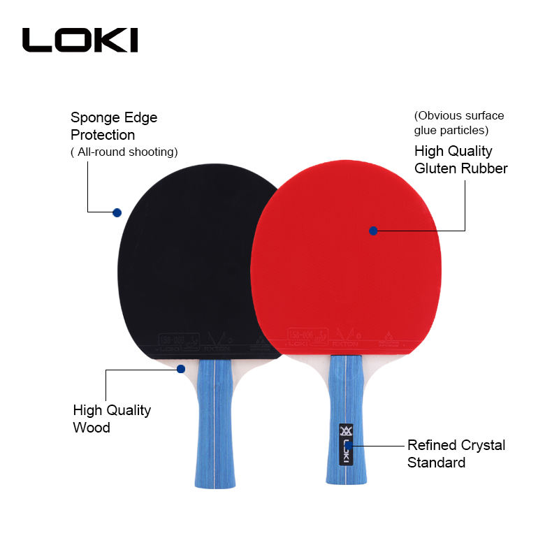 LOKI SW033 ODM/OEM Selling Well For Amazon Paddle Tennis Paddle Ping Ping Racket PING PONG