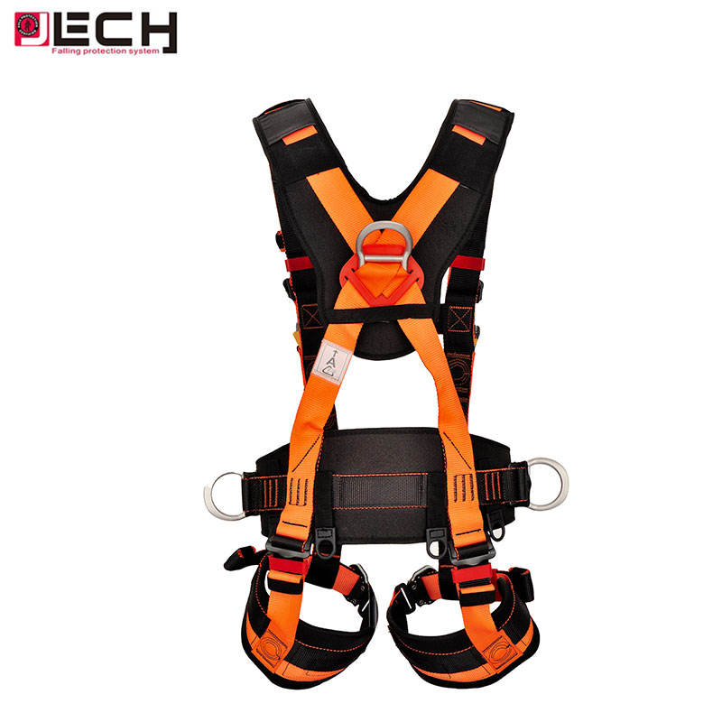 Ce Standard Full Body Safety Harness For Aerial Work Protection