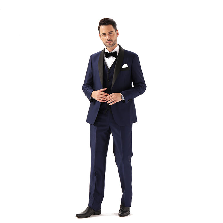 Wholesale Mens coat Shawl Collar Wedding Suit Jacket For Men Luxury Slim Fit Party Blazer