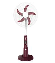 16/18'' Rechargeable with 12V DC solar power stand fan